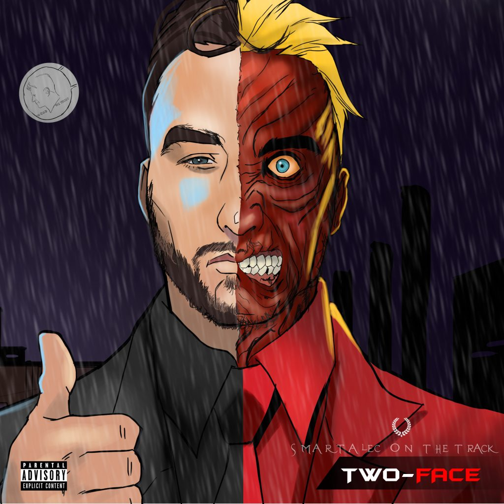 Smartalec On The Track - 'Two-Face' LP [Deluxe Edition]